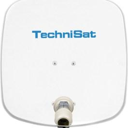 TechniSat DigiDish 45 naMaszt +LNB Single, biała
