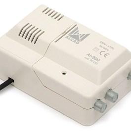 wzm. wielozakresowy ALCAD CA-215 12-230V VHF UHF
