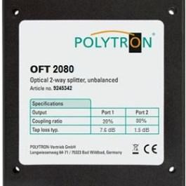 Splitter optyczny asymetryczny POLYTRON OFT 2080