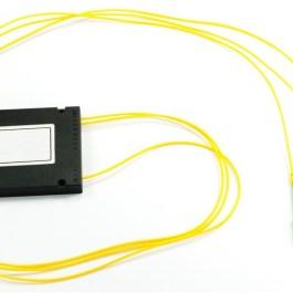 Splitter PLC 1x2 ABS box SM 2mm 1m SC/APC