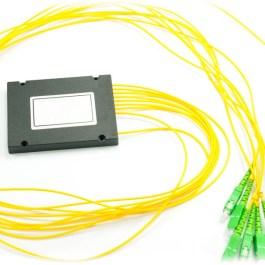 Splitter PLC 1x8 ABS box SM 2mm 1m SC/APC