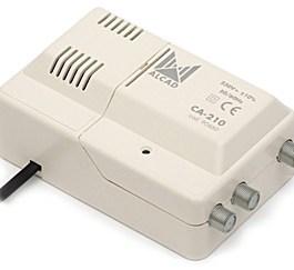 wzm. wielozakresowy ALCAD CA-210 24-230V VHF UHF