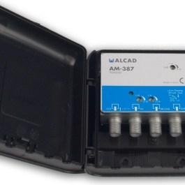 Alcad Wzmacniacz Masztowy AM-387 32dB UHF VHF FM