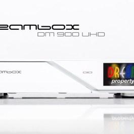 Dreambox DM900 4K UHD H.265 DVS-2 TWIN FBC Biały