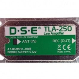 wzmacniacz liniowy DVB-T DSE TLA-250 20dB 5/12V