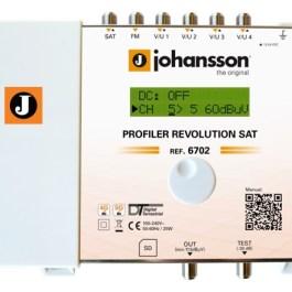 Wzmacniacz Johansson PROFILER Revolution 6702 SAT