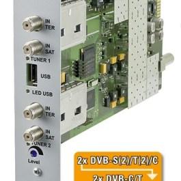 Moduł POLYTRON SPM-UTCT, 2 x DVB-S2/T2/C