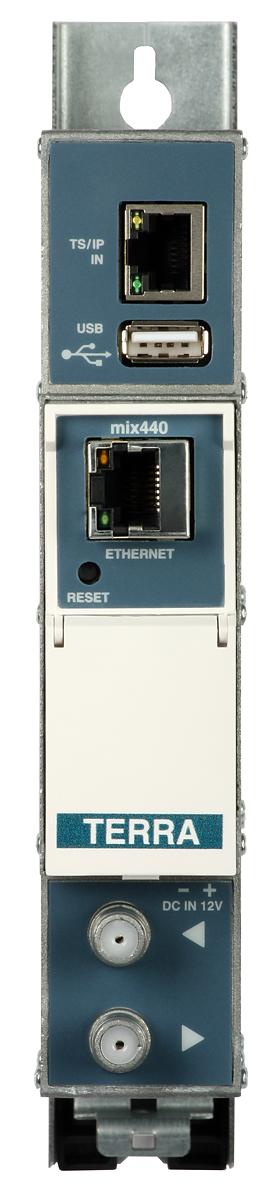 Transmodulator TERRA miq-440 IP - 4x DVB-C z USB