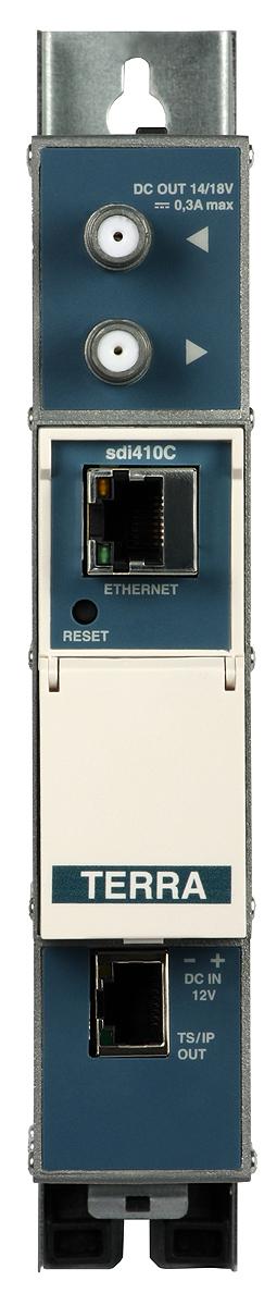 Streamer TERRA sdi-410C IPTV DVB-S/S2-IP z CI