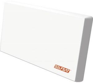 Selfsat - H22D+ antena płaska - z LNB Single