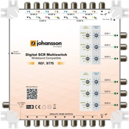 Multiswitch Unicable II Johansson 9775 - 9/6 6xSCR