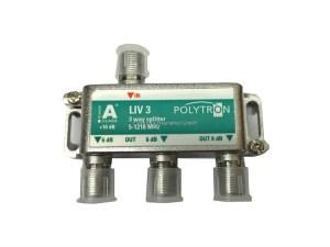 RozgałęŸnik DVB-C 5-1218 MHz LIV 3 Polytron