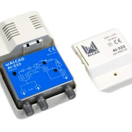 wzmacniacz dom ALCAD AI-233 VHF UHF 28dB k.zwrotny