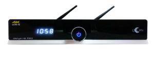 set-top box Ustym 4K PRO UHD E2 DVB-S2X & DVB-C/T2