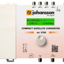 Wzmacniacz Johansson CONVERTOR 9780 4x SAT