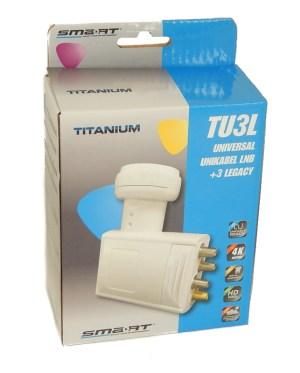 LNB Unicable Titanium TU3L TRIPLE Legacy