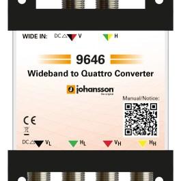 Konwerter Wide Band na Quatro Johansson 9646