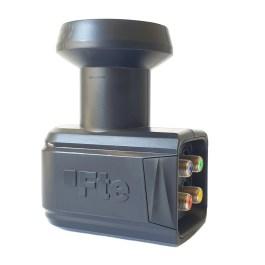 LNB Quatro Fte eXcellento Black LTE 0,1dB