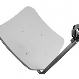 Penta 85 Fracarro - aluminiowy talerz SAT biała