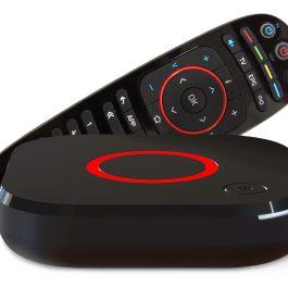Tuner MAG324 HEVC IPTV BOX TV