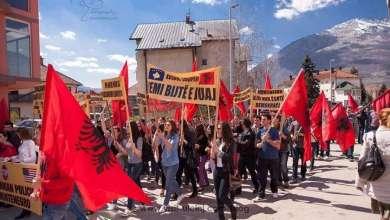 Photo of Shqiptarët e Malit të Zi festojnë 50-vjetorin e Besëlidhjes së Malësisë, që ndaloi gjakmarrjen dhe vrasjet mes tyre