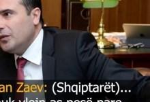 Photo of Ofendimet e Zaevit: Reagojnë partitë shqiptare