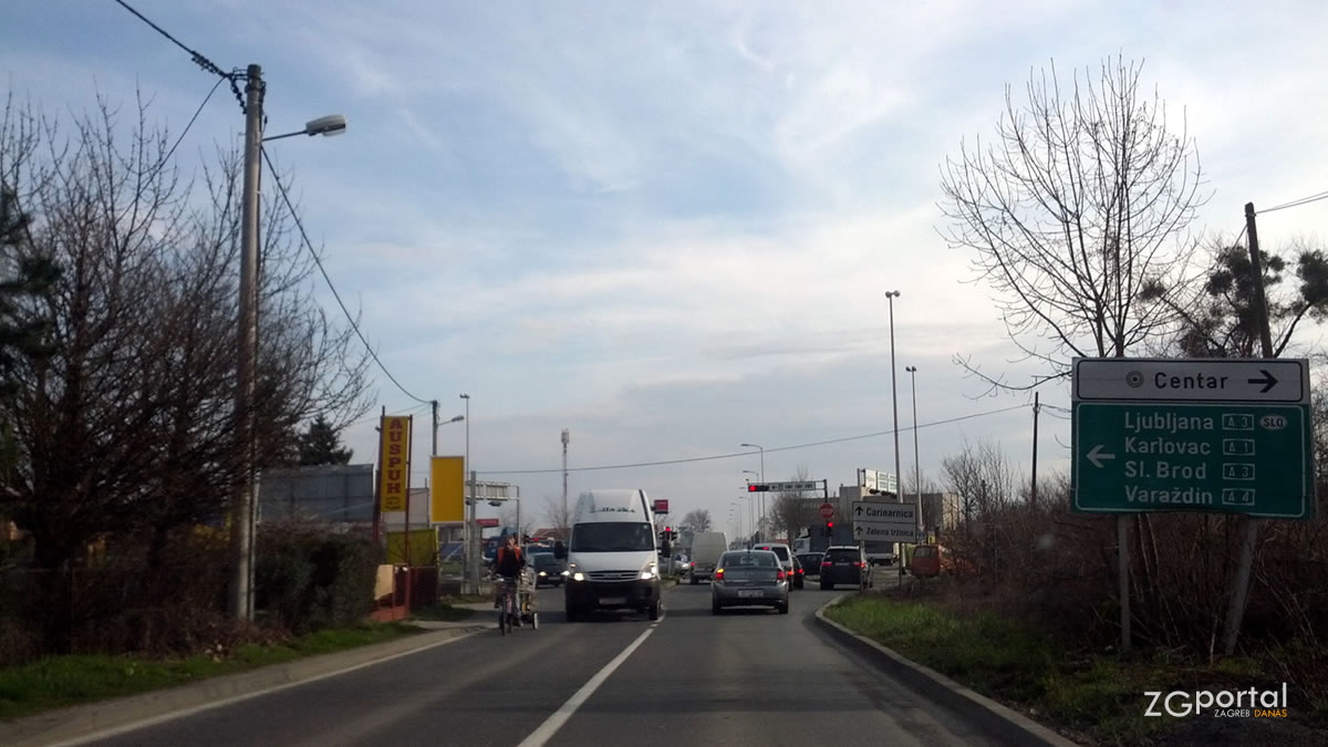 križanje čulinečke cesta i slavonske avenije / zagreb, veljača, 2014.