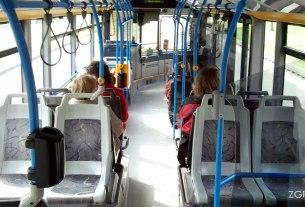 autobus mercedes citaro - sjedalice i unutrašnjost - zet zagreb - 2014
