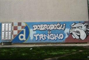 grafit `dobro došli u trnsko` - bbb dinamo trnsko - svibanj 2012.