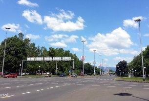 Ulica SR Njemačke, Novi Zagreb / lipanj 2017.