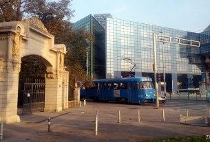 ulaz u park maksimir / zagreb, listopad 2014.