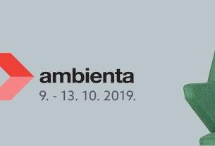 ambienta 2019 / zagrebački velesajam