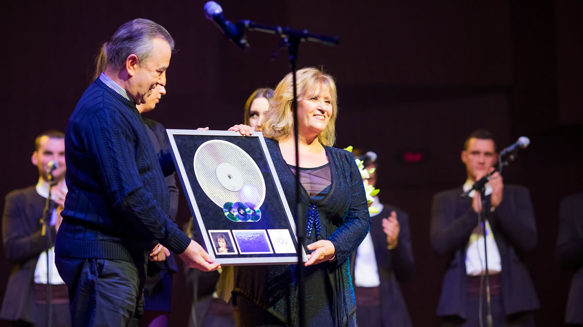 meri cetinić / multi-platinum award / KD Lisinski, Zagreb