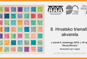 8. hrvatsko trienalle akvarela / muzej mimara, zagreb, 2019