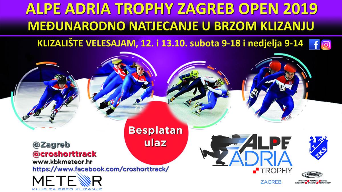 brzo klizanje / alpe adria trophy - zagreb open 2019