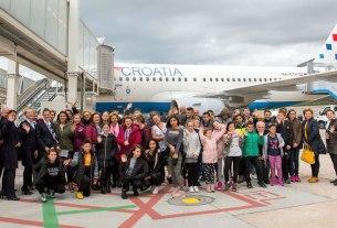 croatia airlines / zračna luka dubrovnik / svjetski dan djeteta 2019