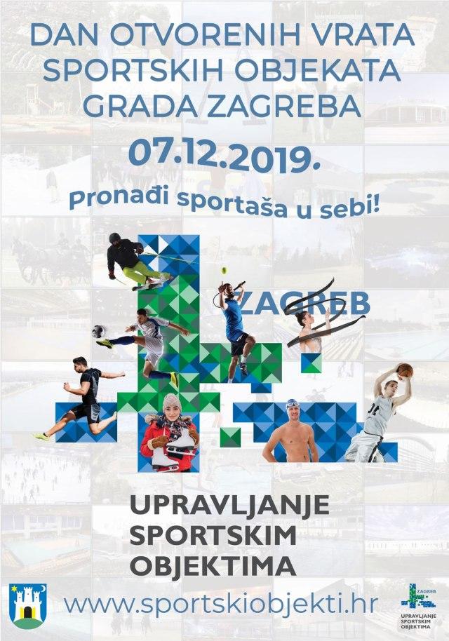 Dan otvorenih vrata sportskih objekata grada Zagreba 2019