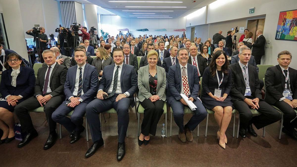 kolinda grabar kitarović / konferencija meeting g2.5 - gradimo poslovne mostove 2019