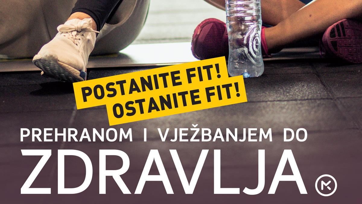 prehranom i vježbanjem do zdravlja / alma bunić i david kuček / 2019