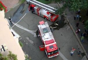 vatrogasna intervencija / travno, zagreb, svibanj 2012.