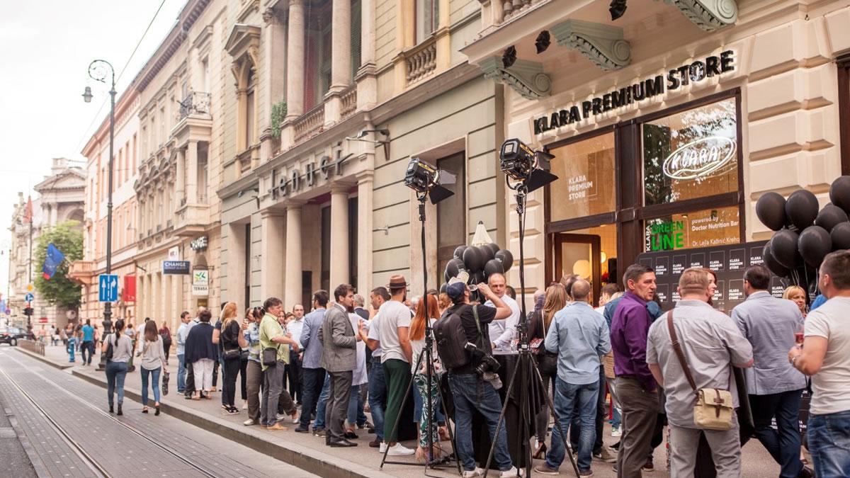 klara premium store / zrinjevac zagreb 2018