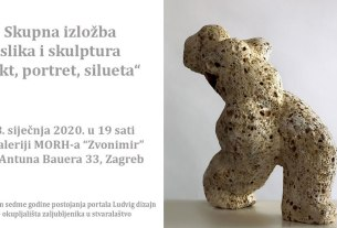 "izložba ""akt, portret, silueta"" - galerija zvonimir - zagreb 2020"