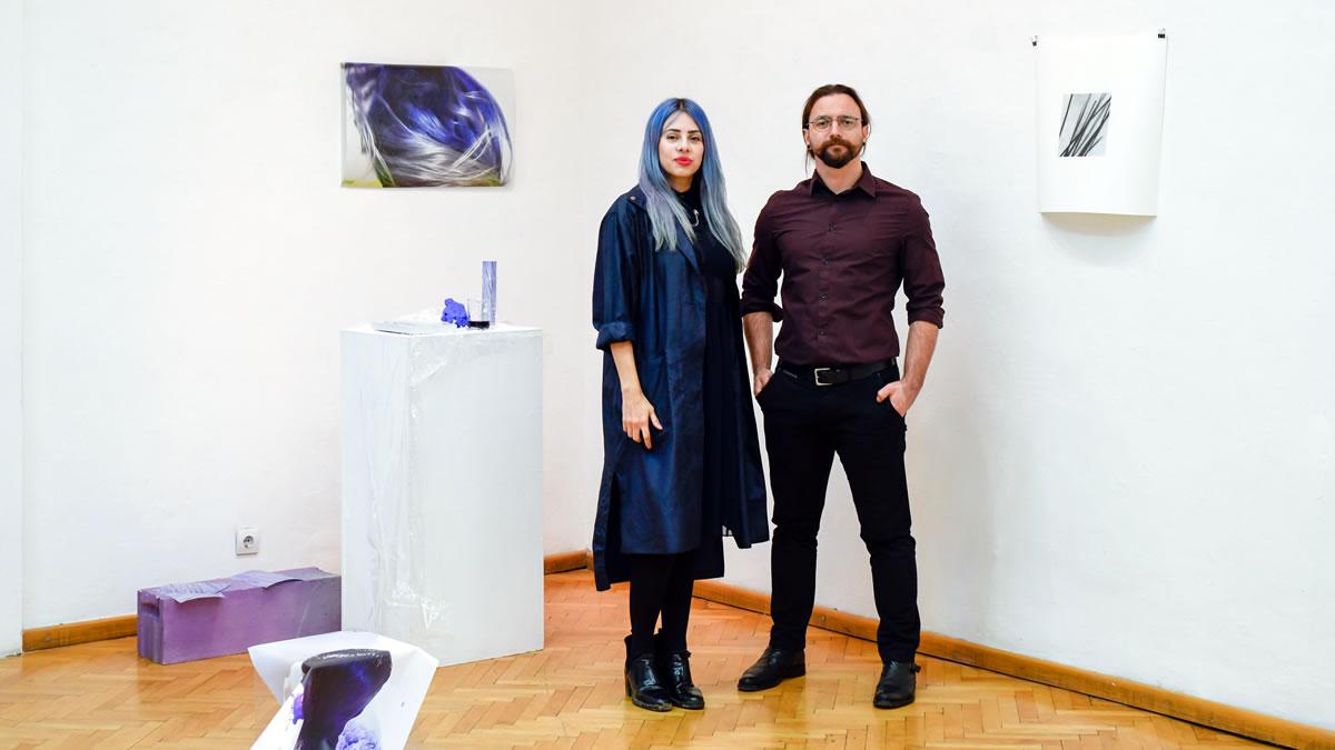 martina miholić i duje medić - izložba close(up)touch 2019