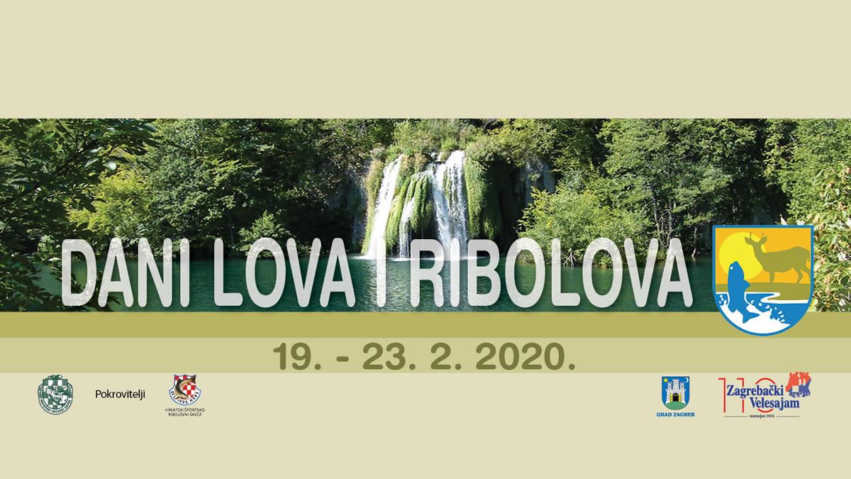dani lova i ribolova 2020 - zagrebački velesajam