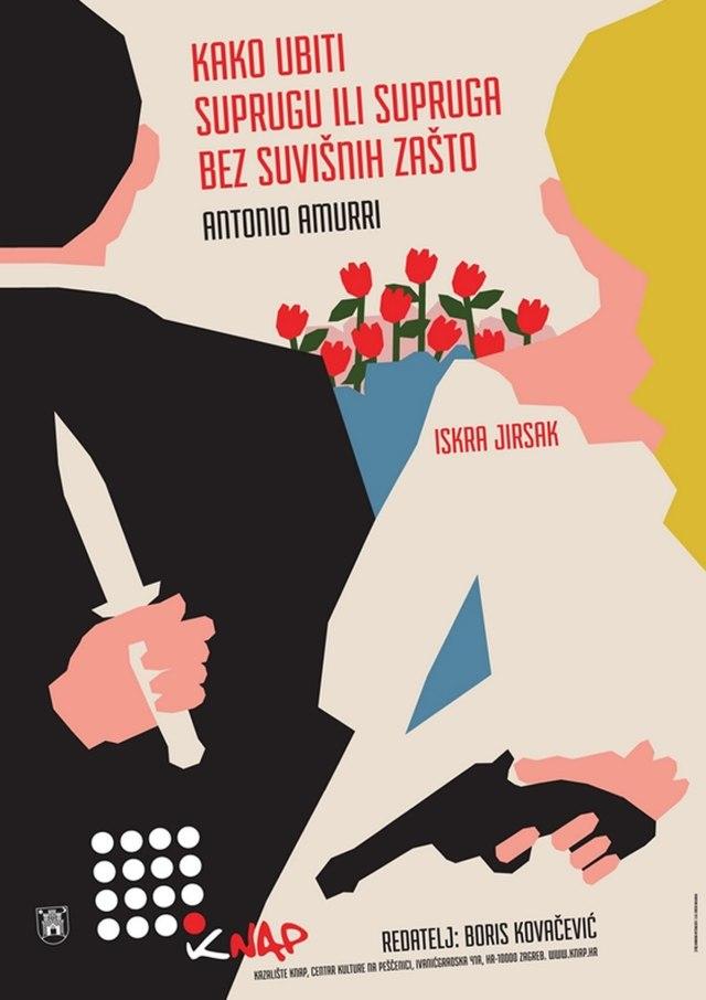 kako ubiti suprugu ili supruga bez suvišnih zašto - antonio amurri - kazalište knap - 2020