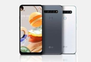 smartphone lg k61 2020