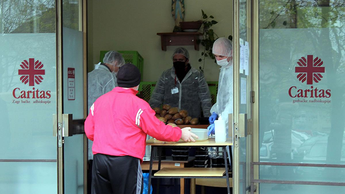 pučka kuhinja - caritas zagrebačke nadbiskupije, dubrava - 2020