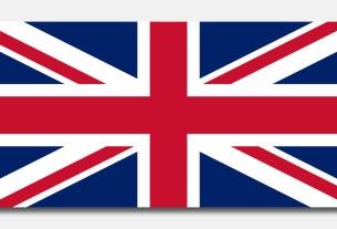 union jack- / great britain flag / 2020