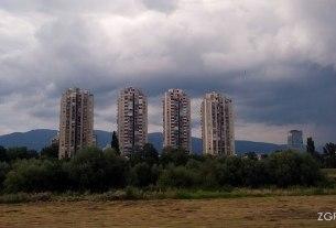cvjetno naselje zagreb - rijeka sava - srpanj 2014.