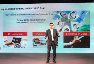 deng tao - chairman - huawei cloud - 2020